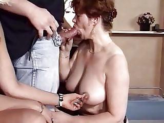 Classic Threesome Sex